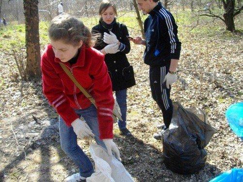 Луцькі екологи та молодь прибрали меланжевий парк (ФОТО), фото-1