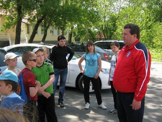 «Таврия» провела экскурсию для юных футбольных фанатов (фото), фото-4