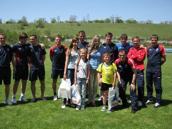 «Таврия» провела экскурсию для юных футбольных фанатов (фото), фото-6