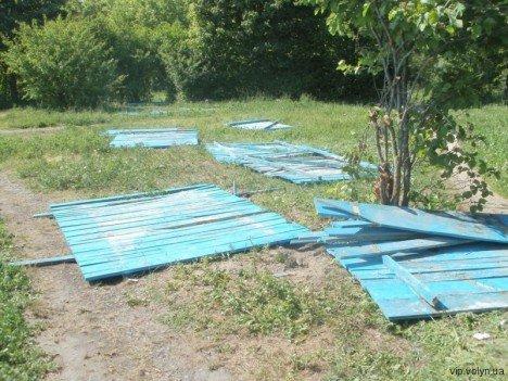 Лучани борються проти забудови парку (ФОТО), фото-1
