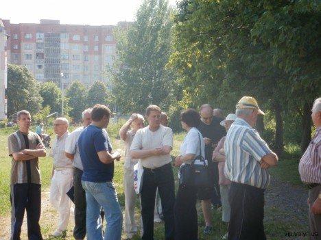 Лучани борються проти забудови парку (ФОТО), фото-2