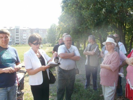 Лучани борються проти забудови парку (ФОТО), фото-3