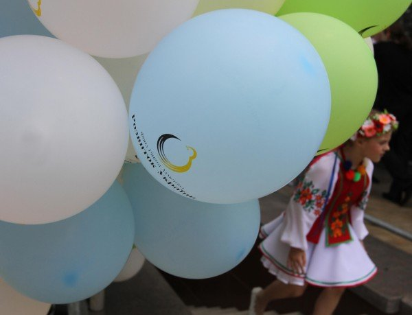 В донецком парке дети разыграли призы от ФК «Шахтер» (фото), фото-6
