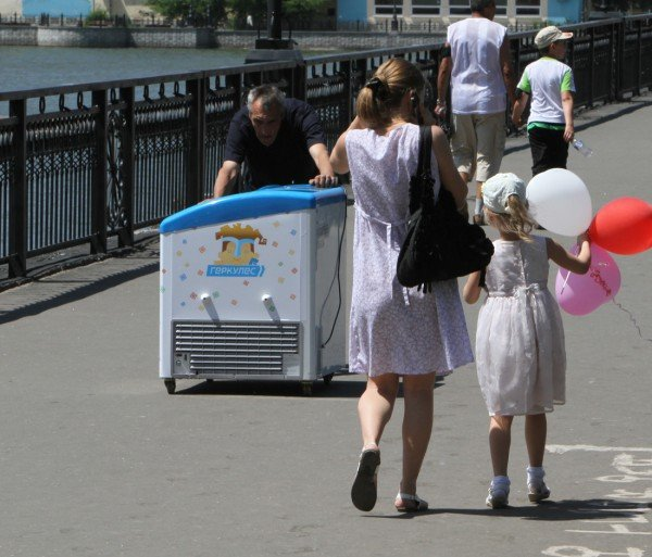 В день защиты детей в Донецке сорвали конкурс детского рисунка (фото), фото-5