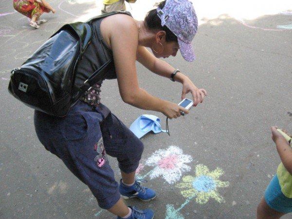 В парке Горького дети «взорвали» асфальт (ФОТО), фото-4