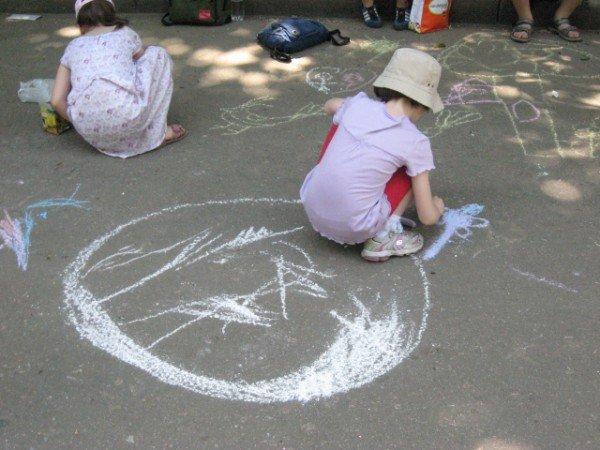В парке Горького дети «взорвали» асфальт (ФОТО), фото-5