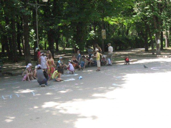 В парке Горького дети «взорвали» асфальт (ФОТО), фото-6