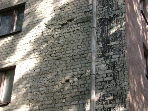 Обрушение фасада жилого дома на Отакара Яроша. Подробности  (ФОТО), фото-4