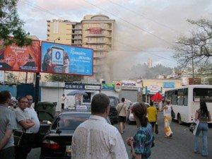 В Ялте загорелся элитный дом (ФОТО), фото-2