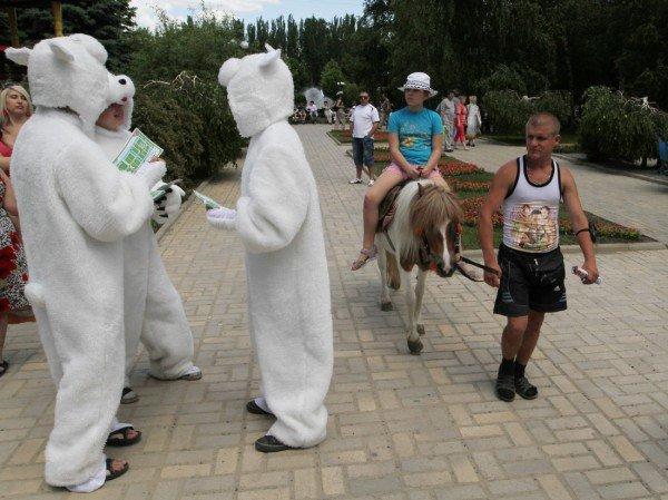 Как по Донецку «белые медведи» ходили (фото), фото-3