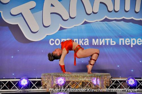 Финалистка «КОНТИНЕНТА талантов» стала артисткой донецкого цирка (фото), фото-1
