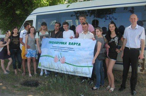 В Луганской области провели автобусный тур, в котором агитировали за чистую окружающую среду (ФОТО), фото-1