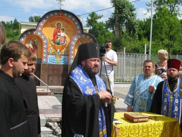 В Саржином Яру появилась освященная икона Божией Матери (ФОТО), фото-5
