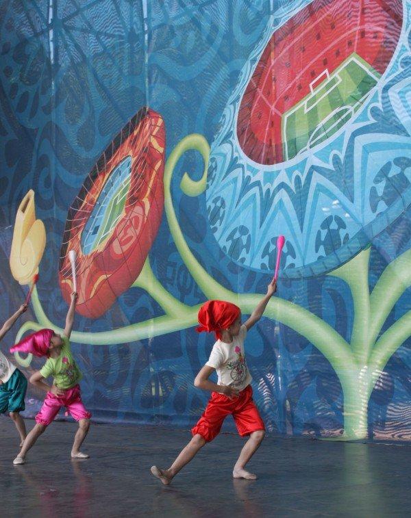 В Донецке - веломаунтенбайком, флорболом, и гонками на каноэ отметили год до старта футбольного «Евро-2012» (фото), фото-2