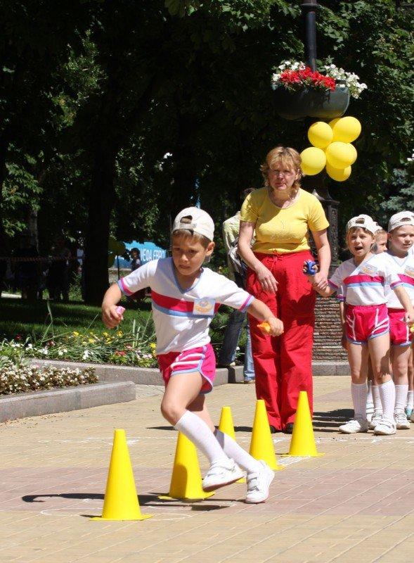 В Донецке - веломаунтенбайком, флорболом, и гонками на каноэ отметили год до старта футбольного «Евро-2012» (фото), фото-4
