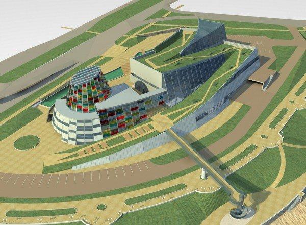 В Донецке выбрали лучшие архитектурные проекты нового здания областного художественного музея (фото), фото-3