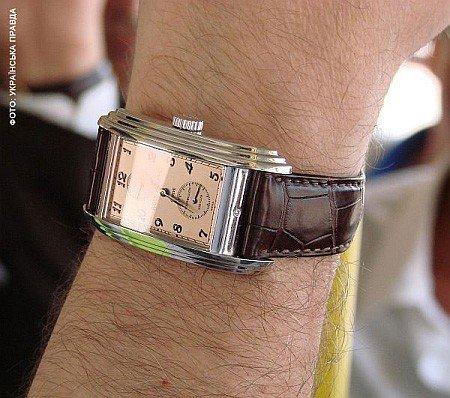 Пiд час останнього вiзиту до Харкова голова ФФУ Григорiй Суркiс хвастався перед Кернесом дорогим годинником, фото-1