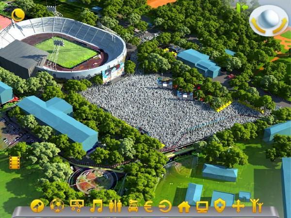 В Донецке перед стадионом «Шахтер» будет создана официальная фан-зона «Евро-2012», фото-1
