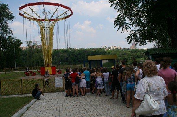 Щедрость компании Ахметова в парке Щербакова закончилась ровно в 8 вечера (фото), фото-5