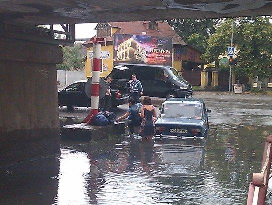 В Ужгороді продовжують тонути автомобілі (ФОТО), фото-3
