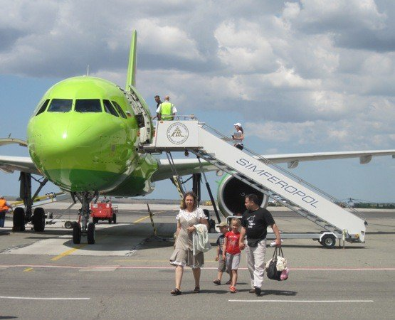 Симферополь встретил миллионного туриста (фото), фото-1