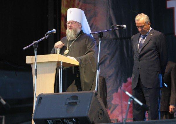 В Донецке звезды Малого театра приняли участие в митинге-реквиеме, посвященном 70-летию со дня начала войны (фото), фото-6