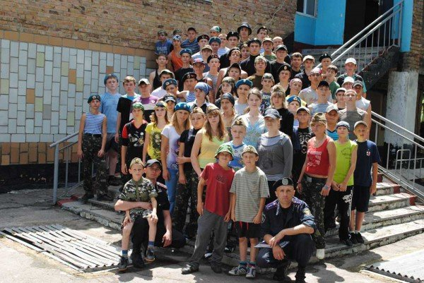 В военно-спортивном лагере под Донецком дети будут проходить парашютно-десантную подготовку (фото), фото-1