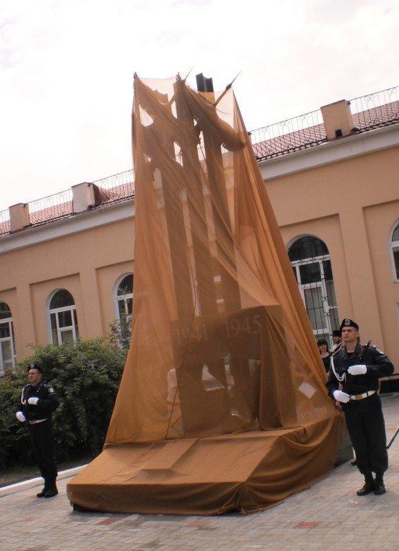 Открыт памятник офицерам-штрафникам, погибшим в боях за Кривой Рог (ФОТОРЕПОРТАЖ), фото-2
