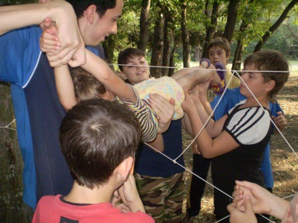 На Азовском побережье открылся первый детский палаточный лагерь (ФОТО), фото-10