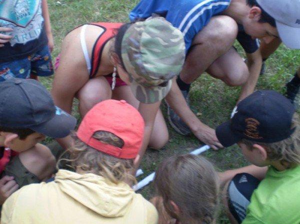 На Азовском побережье открылся первый детский палаточный лагерь (ФОТО), фото-2