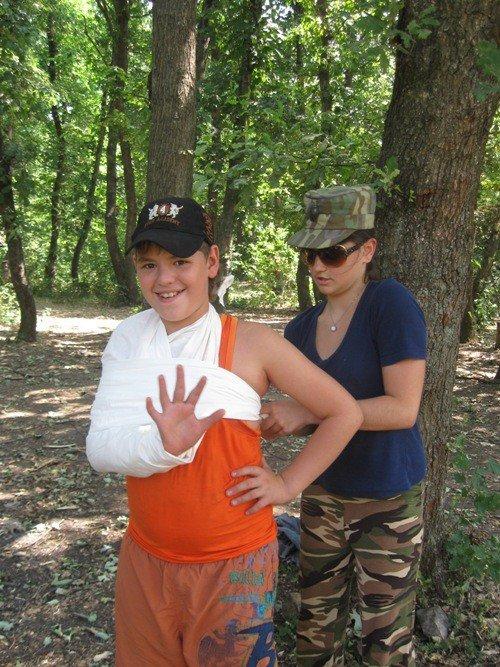 На Азовском побережье открылся первый детский палаточный лагерь (ФОТО), фото-7