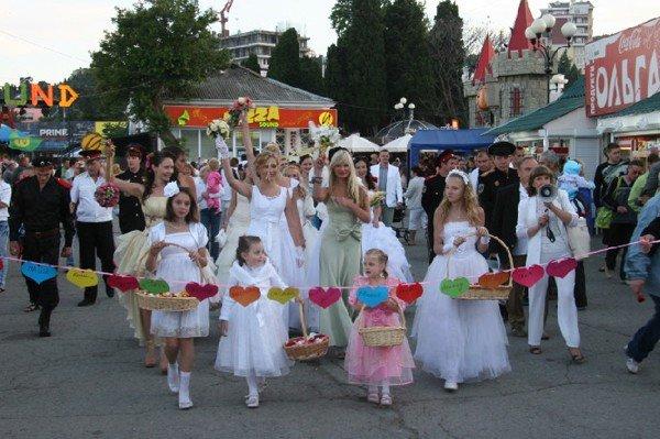 В Алуште прошел парад невест (ФОТО), фото-4