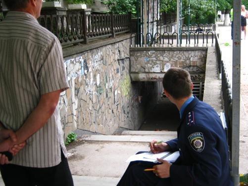 В подземном переходе Симферополя нашли труп (фото), фото-1