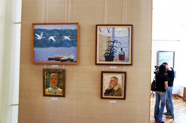 Украинский художник Химочка привез в Николаев из Москвы сотню работ, которые оценивают в тысячи долларов (ФОТО), фото-10