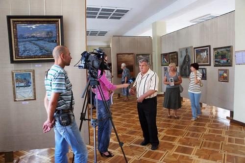 Украинский художник Химочка привез в Николаев из Москвы сотню работ, которые оценивают в тысячи долларов (ФОТО), фото-1