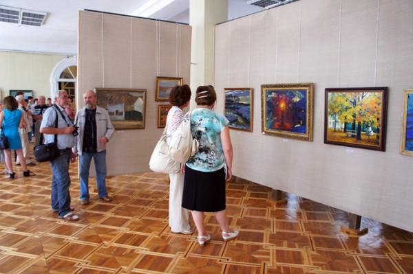 Украинский художник Химочка привез в Николаев из Москвы сотню работ, которые оценивают в тысячи долларов (ФОТО), фото-7