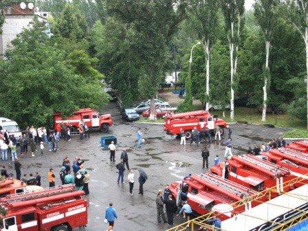 В Запорожье прошли соревнования по пожарно-прикладному спорту (ФОТО), фото-1