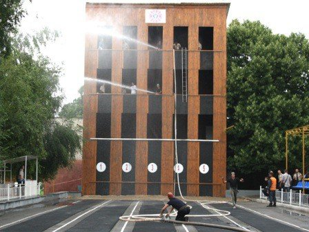 В Запорожье прошли соревнования по пожарно-прикладному спорту (ФОТО), фото-4