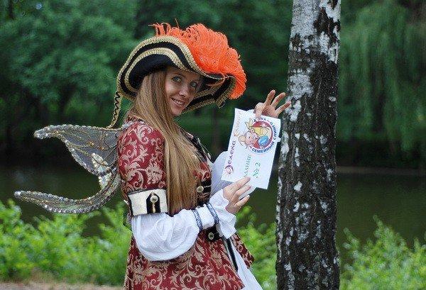 В Запорожье слинго-мамы и слинго-папы искали сокровища (ФОТО), фото-5