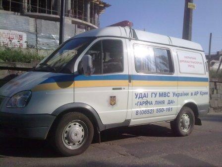 В центре Симферополя иномарка не разошлась с автобусом (фото), фото-3