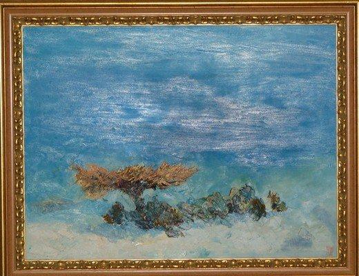 В Симферополе выставили картины, нарисованные на 25-метровой глубине (фото), фото-6