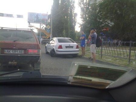В Симферополе столкнулись две легковушки (фото), фото-1