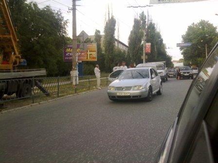 В Симферополе столкнулись две легковушки (фото), фото-3
