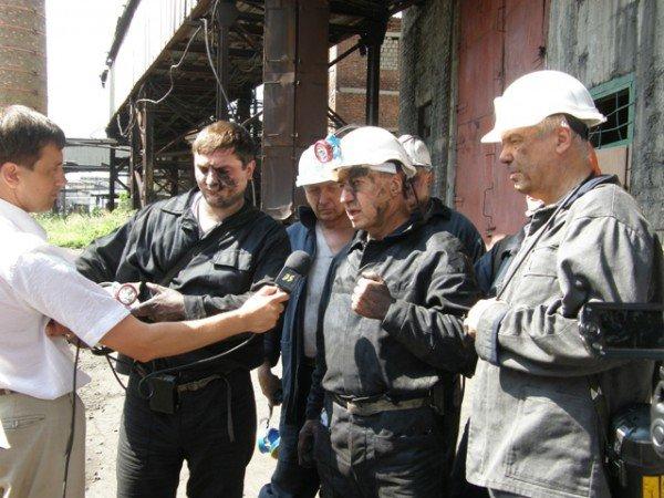 На горловской шахте имени Калинина  успешно опробовали новый комбайн КПВ, фото-3