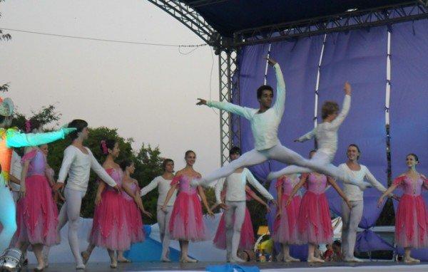 В центре Евпатории танцевали лебеди (фото), фото-6