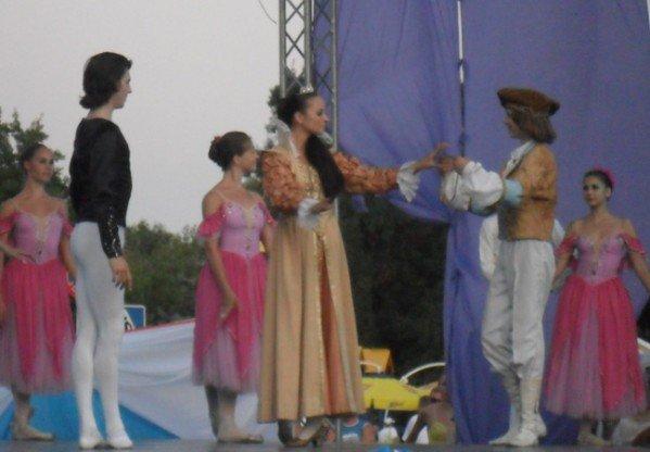В центре Евпатории танцевали лебеди (фото), фото-9