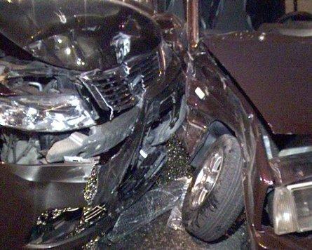 В центре Симферополя пьяный водитель спровоцировал ДТП (фото), фото-2
