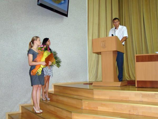В Николаеве губернатор поздравил Ольгу Харлан и Елену Хомровую с победой в Чемпионате Европы по фехтованию (ФОТО), фото-1