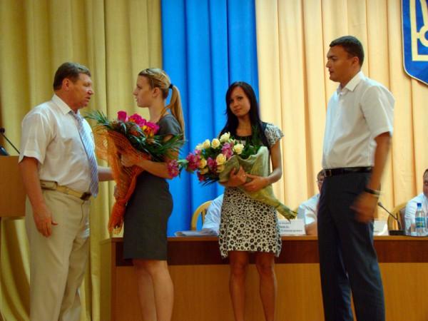 В Николаеве губернатор поздравил Ольгу Харлан и Елену Хомровую с победой в Чемпионате Европы по фехтованию (ФОТО), фото-2