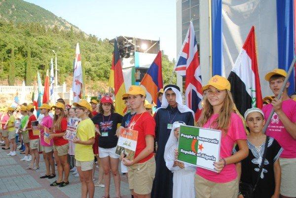Дети из 55 стран собрались в «Артеке», чтобы изменить мир  к лучшему (ФОТО), фото-2